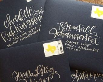 PEARTREE Envelope Addressing