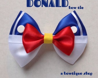 donald clip on bow tie