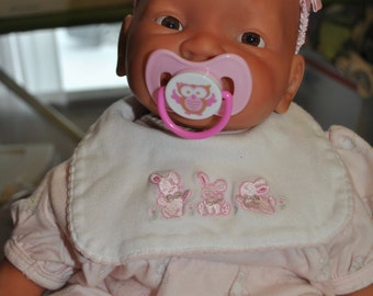 Reborn mixed race baby girl
