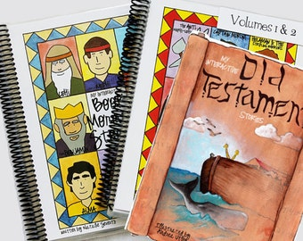 Combo: Book of Mormon Vol 1-2 & Old Testament Bible Stories