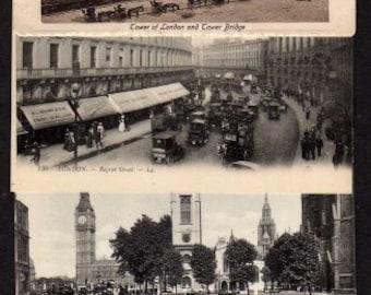 British Postcards, Lot 8, London Postcards, United Kingdom Postcards, UK Postcards,  UNUSED, Save the Date Wedding Guest Cards, Wedding