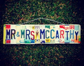 Hawaii. Beach. Wedding. Lighthouse. Lastname. Custom. Licenseplate. Sea. Beach decor. Nautical