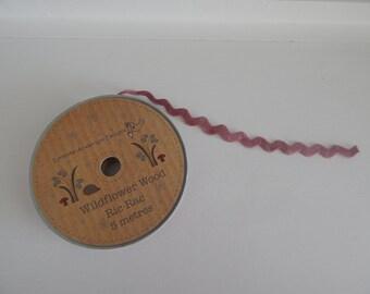 Pink Ric Rac Ribbon 5 Metres