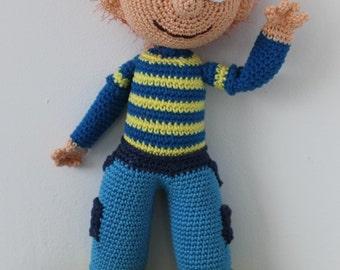 dutch crochet pattern of Toto