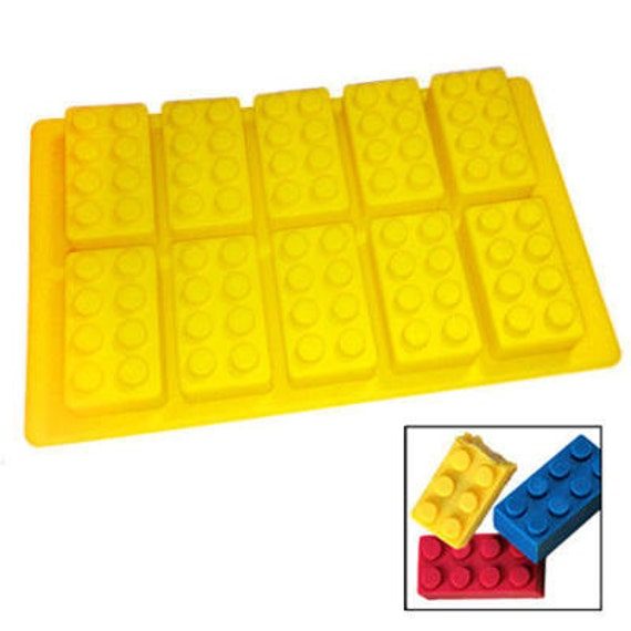Silicone Building Block Mould For Chocolate By Smidgeandpinch