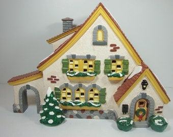 Dept 56 Snow Village Carmel Cottage Light Up Building 1994 5466-6 Free Shipping