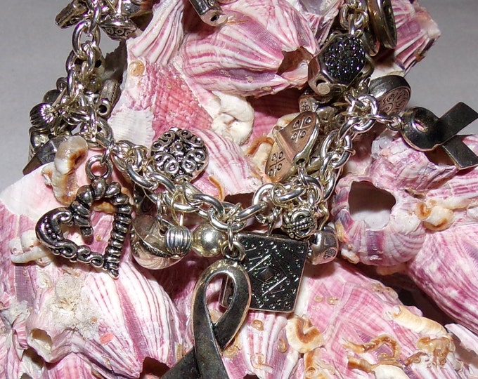 Silver Awareness Bracelet