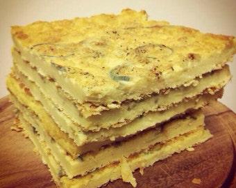 Farinata - chickpea pancake