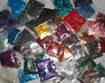 Solvent Resistant Glitter Grab Bag 20 bags
