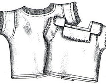 AG1919 - 1894 Babies' Shirts Sewing Pattern by Ageless Patterns
