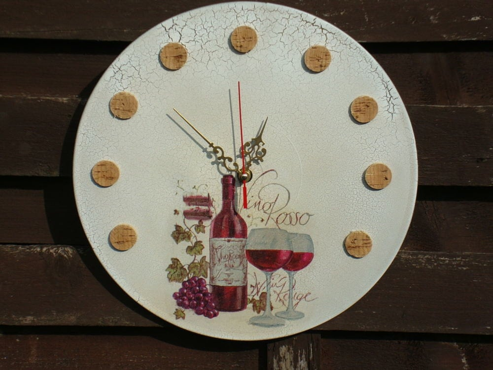 Wall Clocks Wine Clock Kitchen Wall Clock Modern By