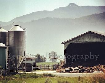 Farm Landscape Print. Farm Life Photo Print. Landscape Photo. Rural America Photography. Photo Print, Framed Print, or Canvas Print.