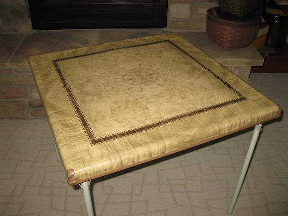Vintage samson card table