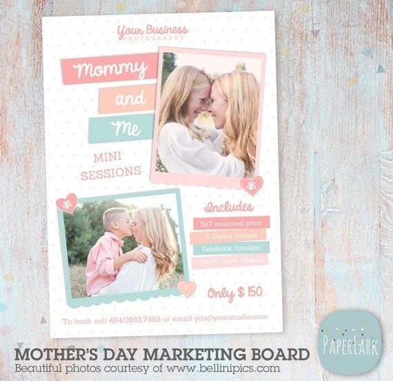 Items Similar To Mother's Day Mini Session Photoshop