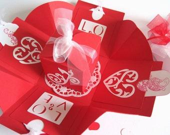 Money gift gift box wedding