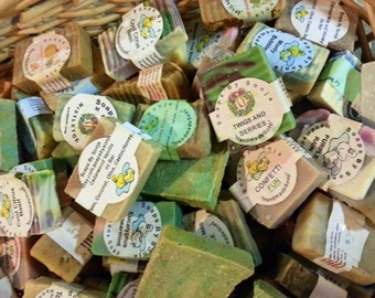 GRAB BAG of 10 bars of soap, lots of scents, wonderful soap