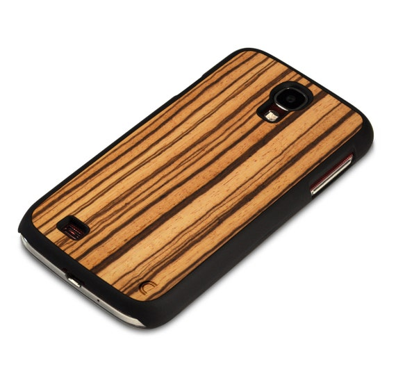 Zebrawood Samsung Galaxy S4 Case Cover. Wooden Samsung Galaxy S4 Case ...