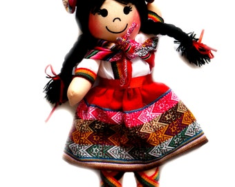 Lovely Peruvian Cloth Doll