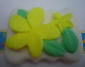 flower petal soap x 1