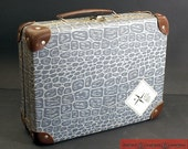 Vintage doll suitcase, child's suitcase