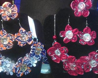 Auburn/Alabama House Divided Jewelry