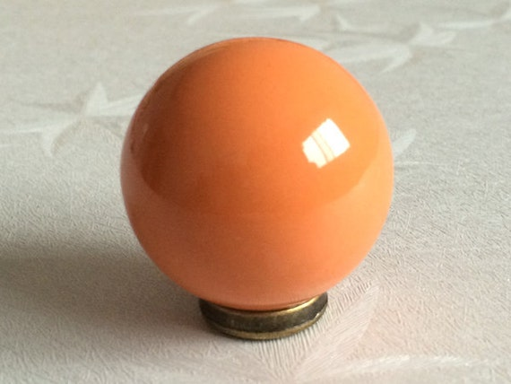 orange knobs kitchen cabinet knobs dresser knob drawer knobs