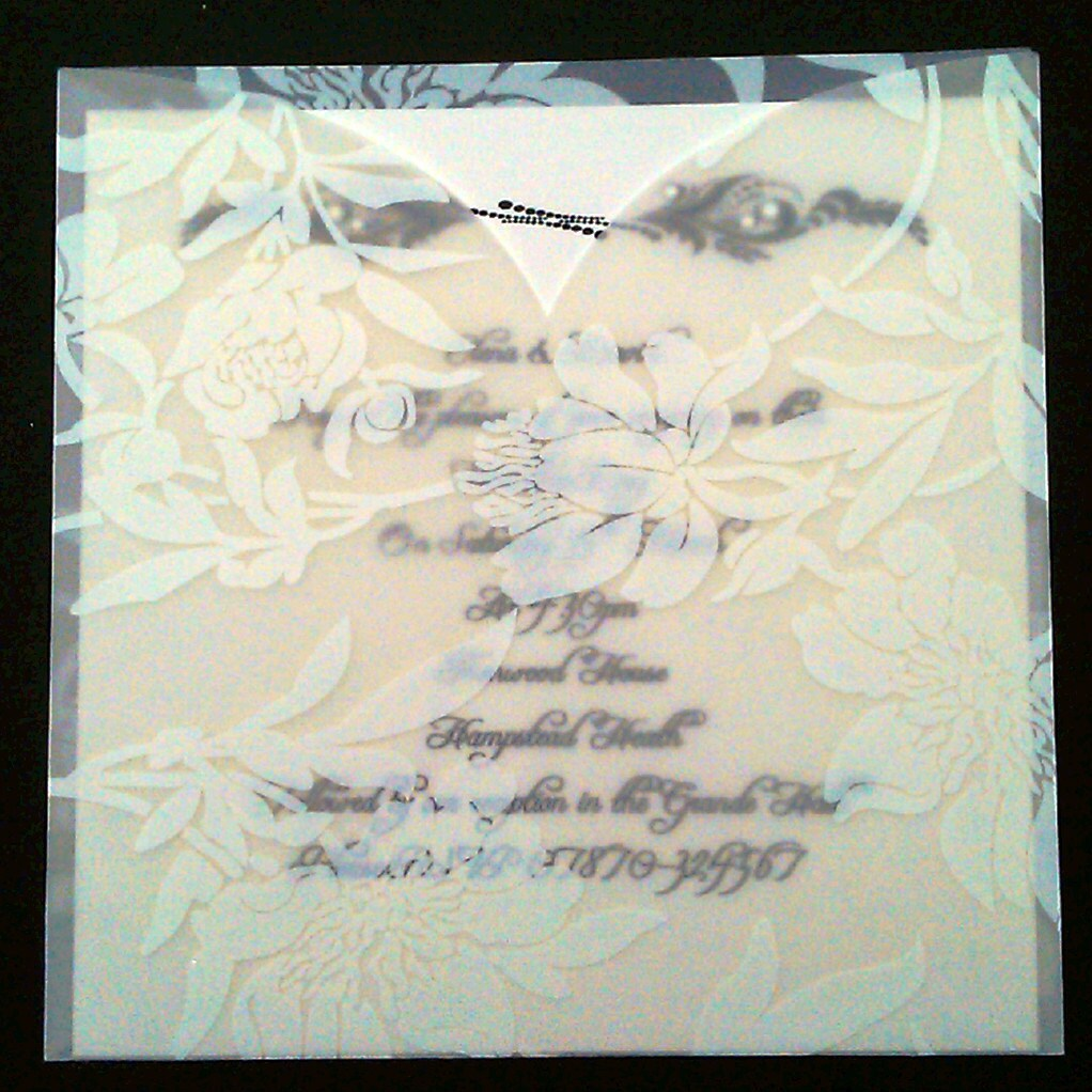 Vellum Invitations is perfect invitations layout