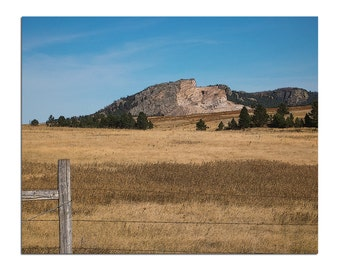 Crazy Horse Monument - Landscape Print - 8x10 - South Dakota Photography - Native American Photo - Travel Photography - Landscape Photo