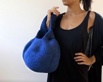 Tuto: Le Grand Knot Bag. Sac laine feutrée, design japonais, classe et original