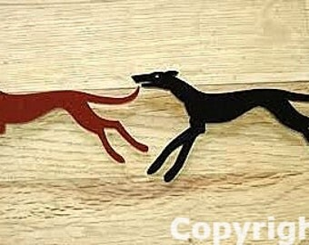 Jakey Greyhound Brooch - new colours