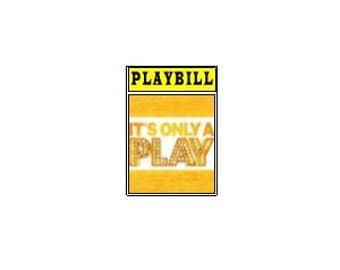 Theater / Show Charm - Playbill Play Bill - It's Only a Play
