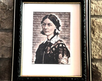 """Florence Nightingale Nurse RN Gift - """"Go With the Flo"""""""