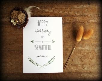 Handmade dinosaur card birthday card boyfriend card hello digital birthday card boyfriend card boyfriend birthday husband birthday diy print bookmarktalkfo Images