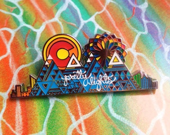 Pretty Lights Rocky Mountain Pin