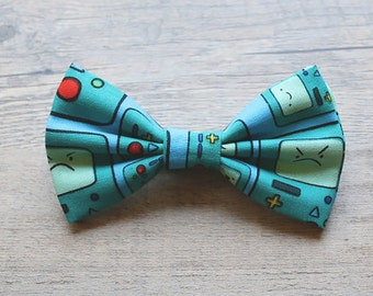 Adventure Time, Beemo, BMO, Gameboy, Adventure Time Bow, Bow Tie, Nintendo, Geekery, Video Game, Hairbow, Mens Bow Tie, Toddler Bow tie