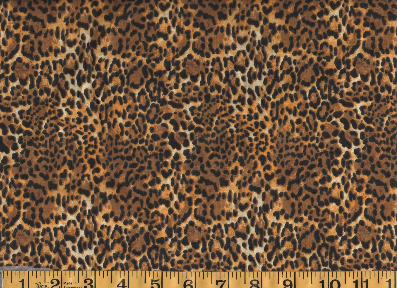 Animal print cheetah leopard skin cotton fabric by the yard for Cotton fabric by the yard