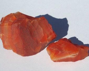 Raw Carnelian Agate Chunk (1)