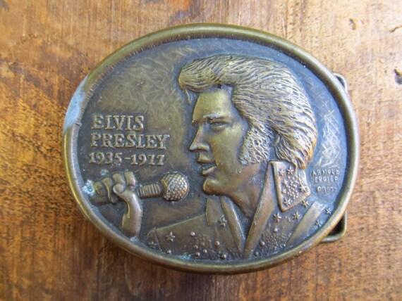 First Edition Official Elvis Presley Commemorative Memorial Buckle