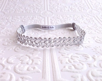 The Silver Damask Crown