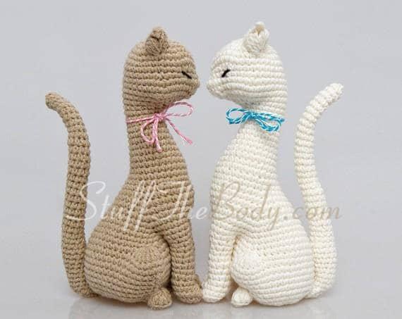 Tutorial Gato Amigurumi Paso A Paso En Espanol : Cat Princess Amigurumi Pattern Realistic Cat Crochet Pattern