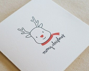 Reindeer / Christmas Card