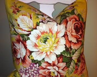 Pillow Cover, Ralph Lauren, Brooke, Cottage Chic, Shabby Chic