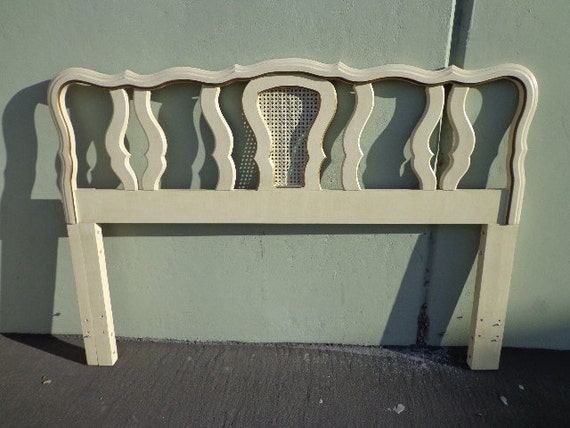 French Provincial Headboard Queen Size Bed Full Size Vintage