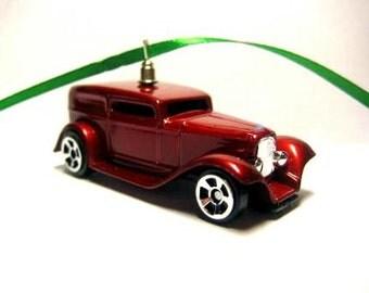 1932 Ford Hot Rod Car Christmas Tree Ornament