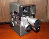 Wollensak Eyematic Model 46 8mm 1950s Movie Camera