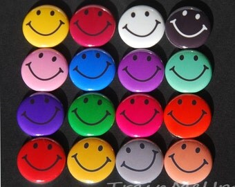 Smiley Face Magnets - Chore Chart Magnet - Behavior Chart Magnet - Fridge Magnet - Smiley Face Magnet
