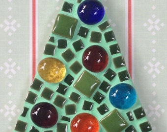 Fun Lily Mosaics D.I.Y. Mosaic Christmas Tree Kit for adults and children
