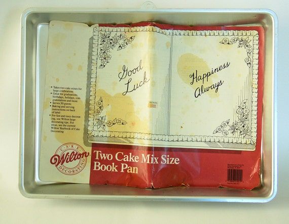 wilton book cake pan instructions