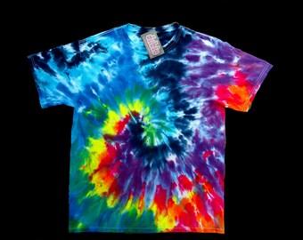 Rainbow Spiral Tie Dye Shirt