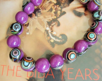 1960's Style Psychedelic beads